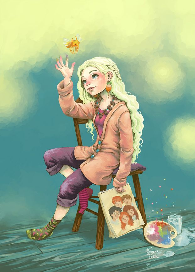 Luna Lovegood Ravenclaw Fan Art 38754835 Fanpop Page 9