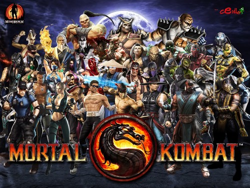Mortal Kombat achtergrond possibly containing anime called MK9/Mortal Kombat 2011