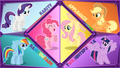 Mane 6 - my-little-pony-friendship-is-magic wallpaper