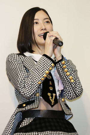 Matsui Jurina AKB48 General Election Museum 2015
