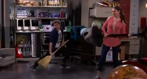 """Max and Phoebe in """"Exit Stage Theft"""""""
