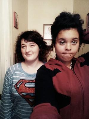 Me in my Deadpool hoodie <3