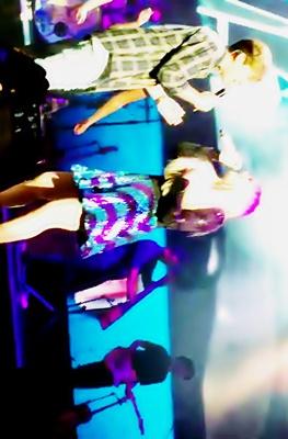 Meghan Trainor Charlie Puth - Marvin Gaye MTrain Tour San Francisco, CA July 21, 2015