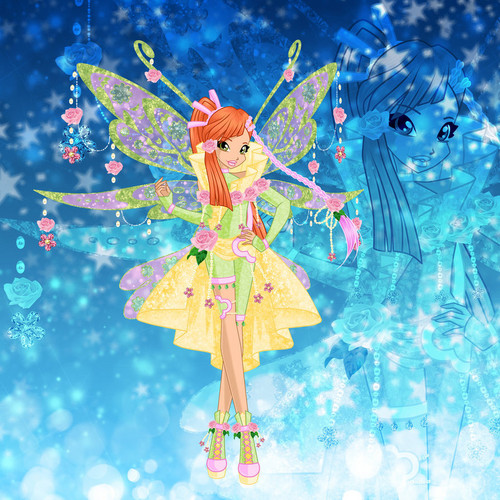 Winx Club Hintergrund entitled Miele Honix