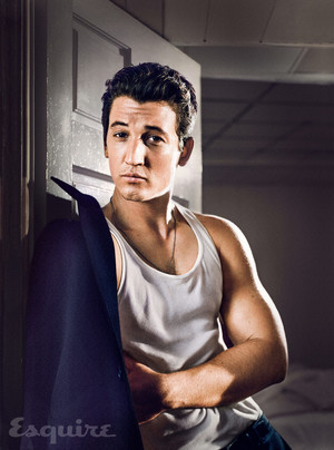 Miles Teller - Esquire Photoshoot - 2015