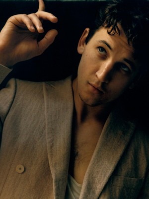 Miles Teller - L'Uomo Vogue Photoshoot - 2015