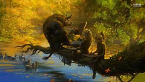 Minotaur and Elves