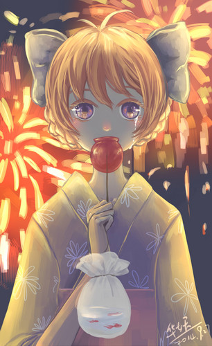 LittleMissBook wallpaper entitled mais Chiyo~chan