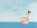 natalie-portman - NP.COM Calendar- August wallpaper