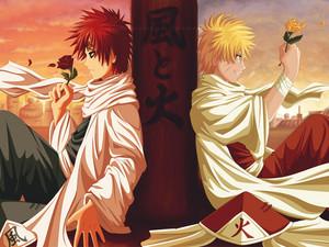 Naruto and Gaara Naruto shippuuden 20578712