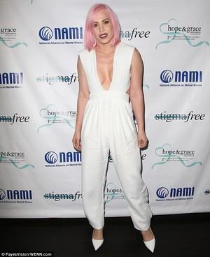 Natasha at NAMI's Stigma Free Lunch