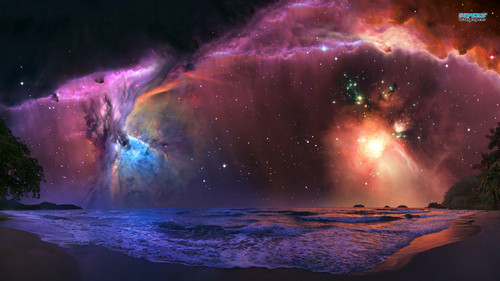 The Universe Wallpaper Called Nebulas And Planets