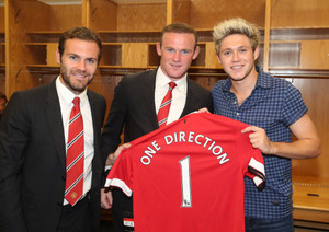 Niall at the International Champions Cup 2015