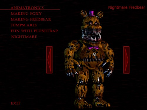 Five Nights at Freddy's پیپر وال possibly with عملی حکمت called Nightmare fredbear