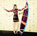Nina at Teen Choice Awards  - the-vampire-diaries-tv-show photo