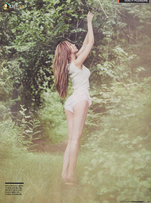 Nine Muses Erin for Arena Homme  August 2015