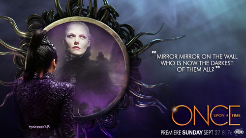 Once Upon A Time karatasi la kupamba ukuta entitled OUAT Season 5