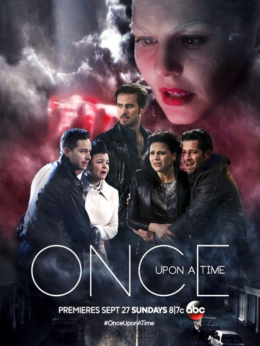 C'era una volta wallpaper probably containing a smoke screen titled OUAT Season 5