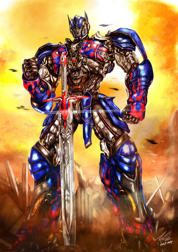 transformers wallpaper containing anime titled Optimus Prime