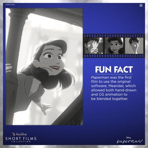 Paperman Fun Fact