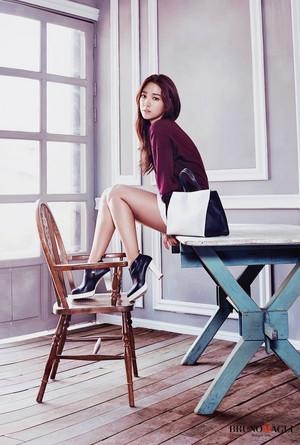 Park Shin Hye for BRUNOMAGLI