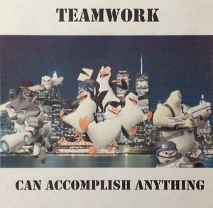 Penguins Motivational Poster