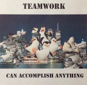 Penguins Motivational Poster
