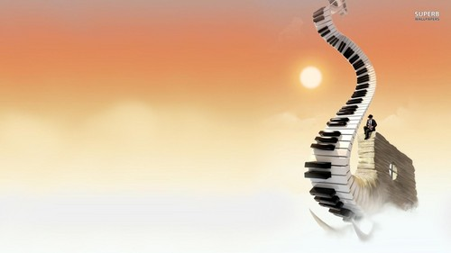 Jazz wallpaper titled Piano