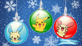 Pokemon natal baubles