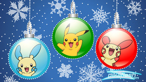 Pokemon christmas baubles