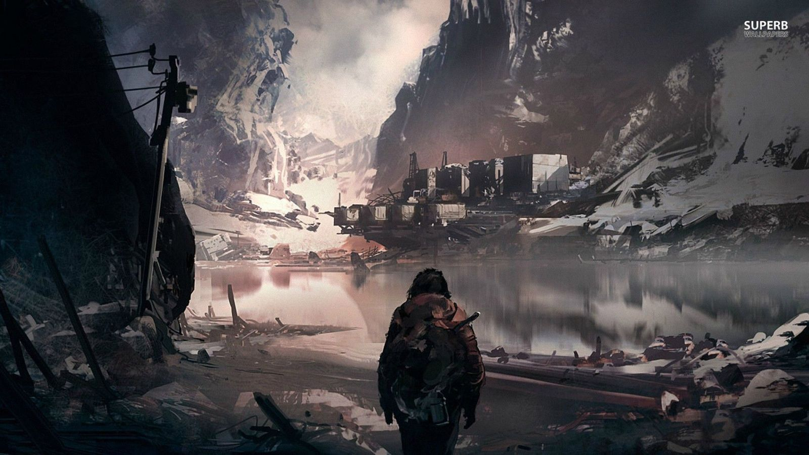 Fantasy Images Post Apocalypse HD Wallpaper And Background Photos