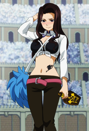 fairy tail wallpaper called Pretty Cana