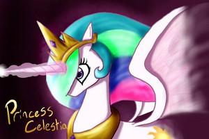 Princess Celestia shabiki art