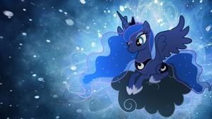 Princess Luna karatasi la kupamba ukuta