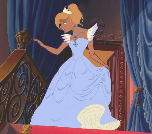 pagkabata animado pelikula pangunahing tauhan babae wolpeyper called Princess Odette