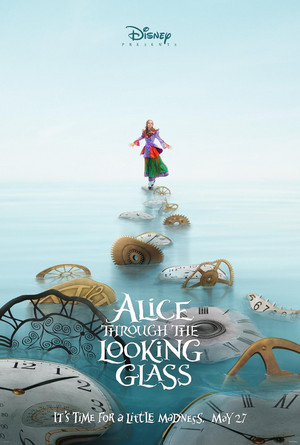 Promotional Poster for 'Alice Through The Looking Glass'