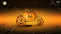 disney - Pumpkin Coach wallpaper