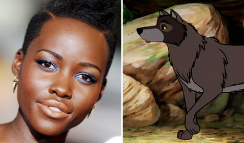 The Jungle Book Обои possibly with Аниме titled Raksha and Lupita Nyong'o