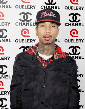 Rapper Tyga at The Line up quelery