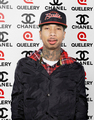 Rapper Tyga at The Line up quelery - tyga photo
