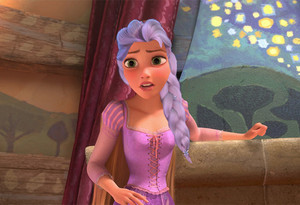 Rapunzel With Elsa's Hair