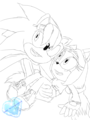 Redgo and Daniela - sonic-fan-characters-recolors-are-allowed photo