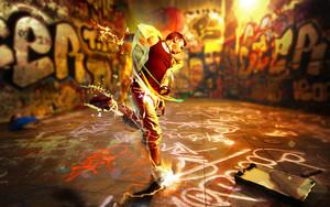 Resident Evil Dance Graffiti Art