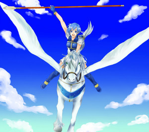 Riley: the young pegasus knight