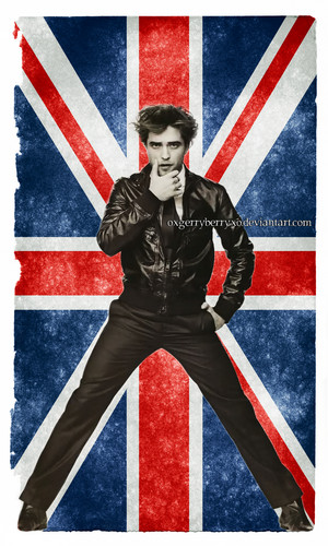 Robert Pattinson,my fave British actor