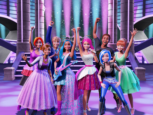 Filem Barbie kertas dinding titled Rock 'N Royals - Official Stills (HIGH DEFINITION)