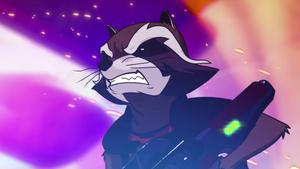 Rocket Raccoon~ Animated
