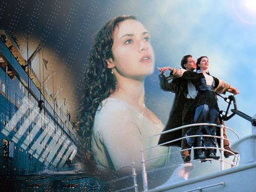 Titanic karatasi la kupamba ukuta with a tamasha titled Rose Dawson