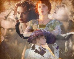 Titanic karatasi la kupamba ukuta titled Rose Dewitt Bukater