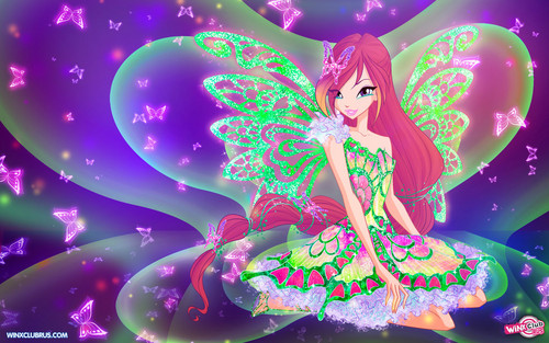 Winx Club Hintergrund entitled Roxy Butterflix
